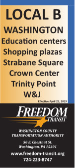 Local B bus schedule - Freedom Transit